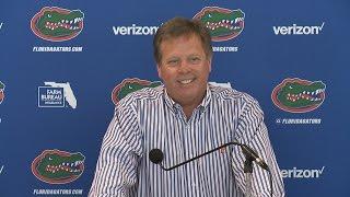 Florida Football: Jim McElwain Press Conference 4-3-17 thumbnail
