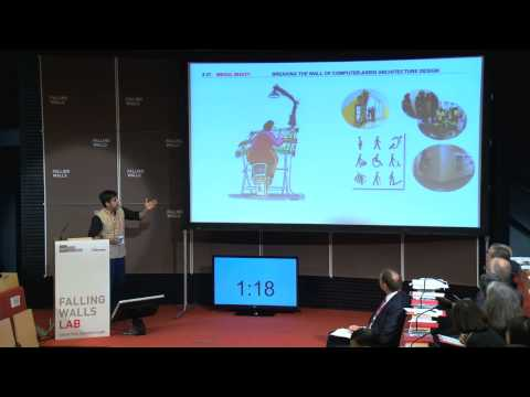 Mehul Bhatt - Breaking the Wall of Computer-Aided Architecture Design @Falling Walls Lab 2014