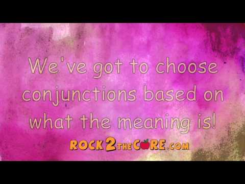 Conjunctions Song - Rock 2 the Core - K-5 ELA