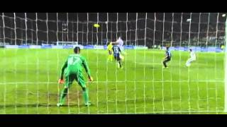 Ricardo Gabriel  Alvarez Goal (Atalanta 0-1 Inter) 29.10.2013