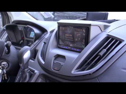Ford Transit Audio Upgrade With The Pioneer 4200 Apple Car Play By Monney