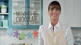 Blanca Flor - Día del niño - Brownies de chocolate por Sandra Plevisani