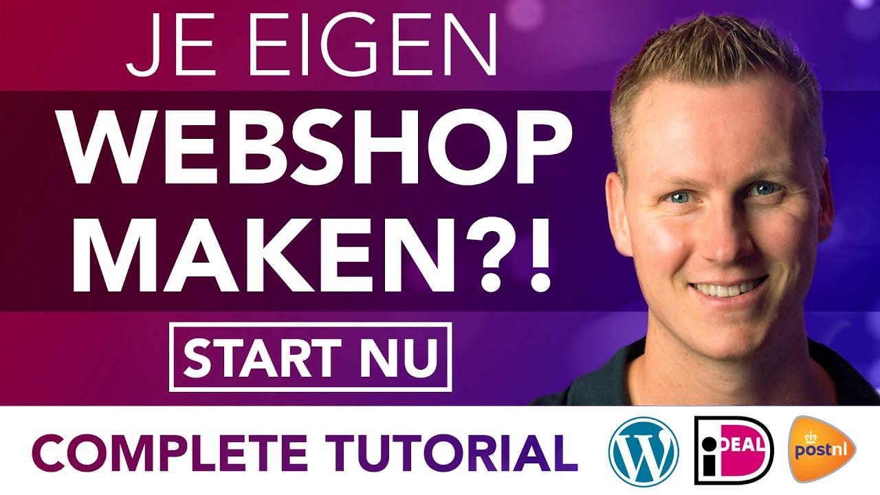 Hoe Maak Je Een Webshop 2021