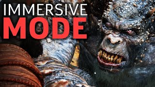 God Of War's Immersive Mode Is The Way To Play