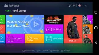 Gloud Games play Ps4,Pc,Xbox one games on your android phone (FREE)Tekken 7 Gameplay