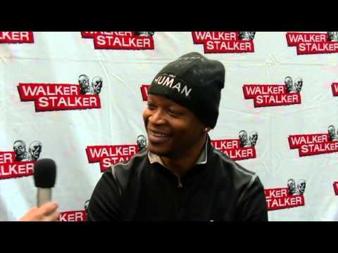 THE WALKING DEAD: Funny  with Lawrence Gilliard Jr