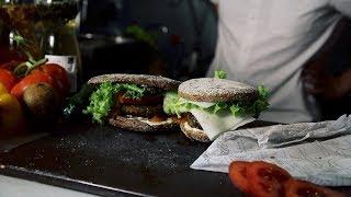 Wegetariańskie burgery z soczewicy