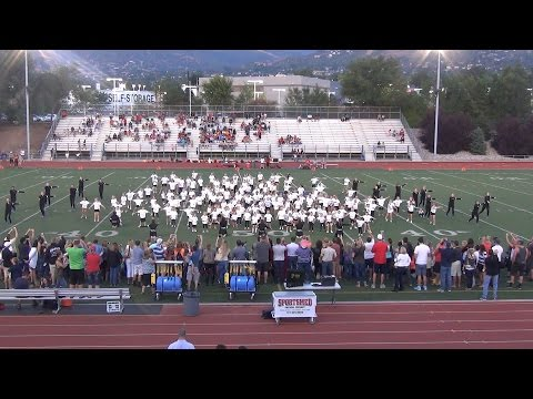 WXHS Chatelles 2016-17 Junior Chatelles Halftime Performance (8-26-16)