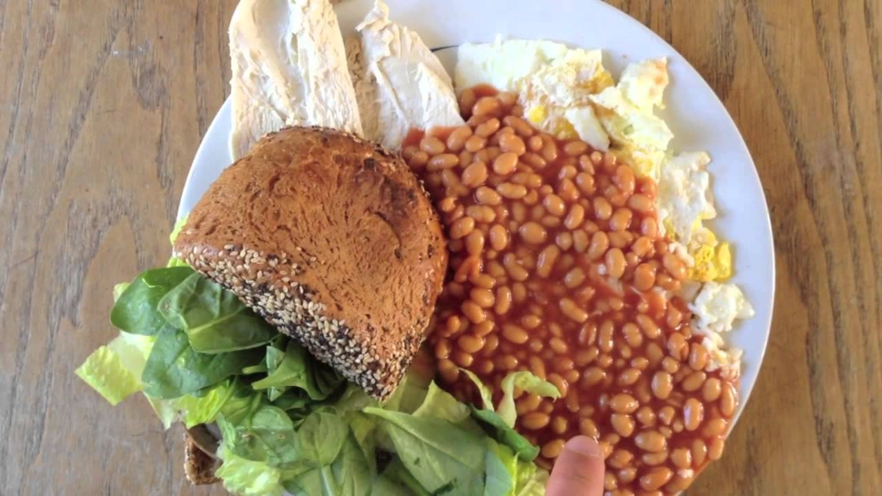100 Grams Of Protein In 15 Minutes Bodybuilding Breakfast Bulking Meal Example