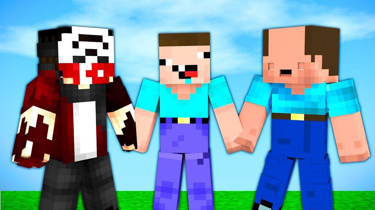 BALON KAFA VE NOOB KAFA GERİ DÖNDÜ !! - Minecraft