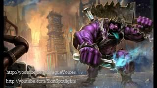 Dr Mundo Voice - English - League of Legends