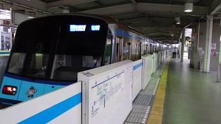 横浜市営地下鉄3000S形3571F 普通あざみ野行き 新羽駅到着
