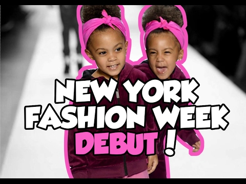 McClure twins debut at New York Fashion Week (NYFW)!
