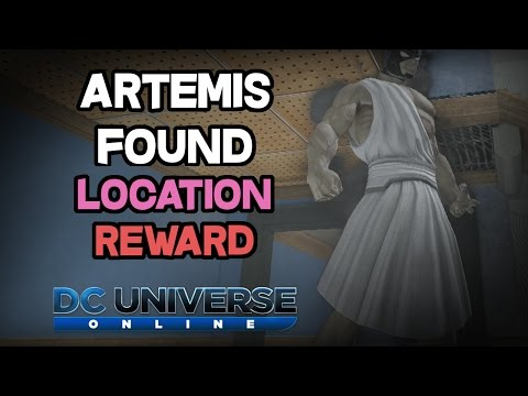 DCUO - Artemis Found [Location & Reward]