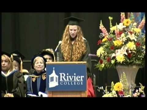 Rivier College - Commencement 2012 - Lisa de Haan