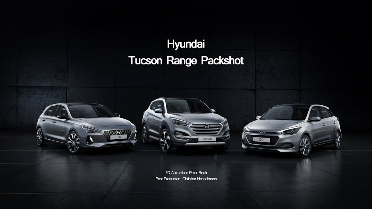 Hyundai 3er Range Packshot