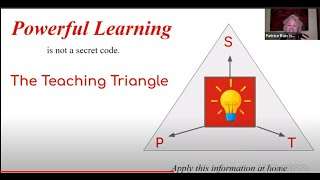 Virtual Conference: Powerful Learning and the Teaching Triangle