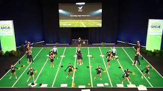 Oak Ridge High School (CA) Game Day Cheer @ UCA Nationals Semis 2018