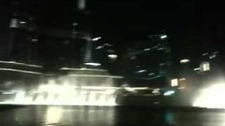 Dubai fountain - Waves (amvaj)