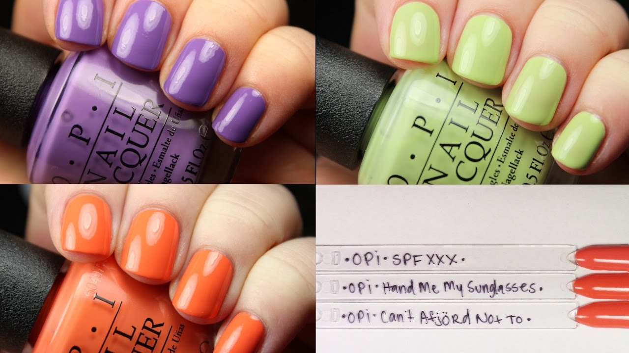 OPI Fiji | Ulta Exclusives | Live Application - YouTube