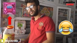 How Indian Guys Buy Condom | Aashutosh Sharma