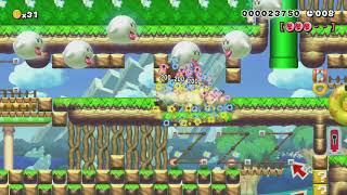 ♥ハラハラ♥ドキドキ♡SpeedRun!合格通知来ましたòωó♥ by ゆきぃ(ゆっきぃ♪) - Super Mario Maker - No Commentary