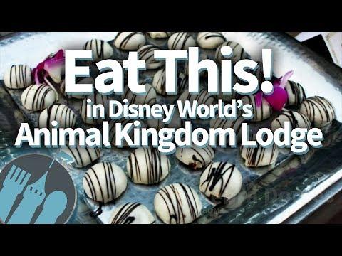 EAT THIS at Disney World's Animal Kingdom Lodge!
