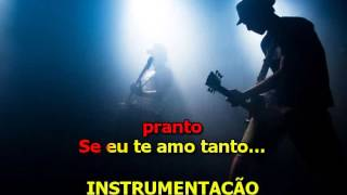 Amado Batista - Porque te Amo Tanto - Karaoke