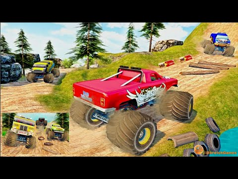 Monster Truck Master - Monster Games 2019 - Gameplay (iOS & Android)