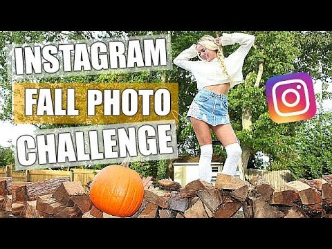 7 DAYS OF INSTAGRAM PICTURE IDEAS!! INSTAGRAM PHOTO CHALLENGE for FALL! Instagram Pictures PHOTOS