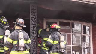 Allentown 2nd Alarm House Fire - 2.5.17