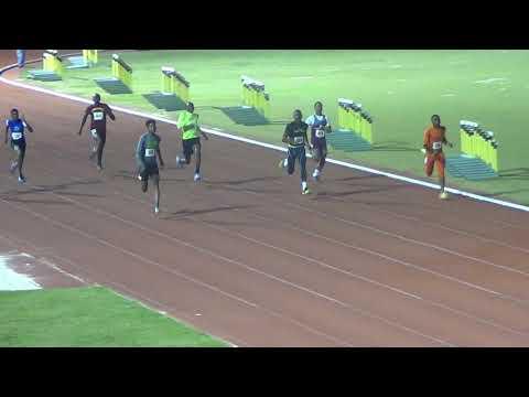 T-Bird flyers 2019 under 20 boys 100 m heat 4