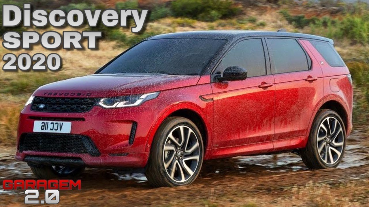 Novo Land Rover Discovery Sport 2020 - (Garagem 2.0)