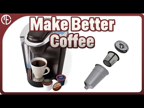 How to make coffee with a keurig machine