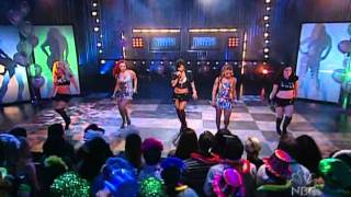 Pussycat Dolls - Loosen Up My Buttons Live At New Years Party