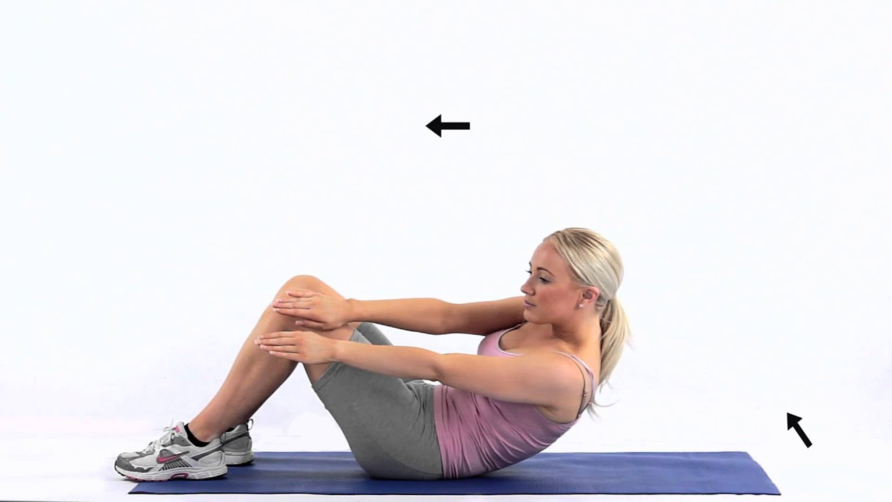 How To Do An Oblique Crunch Youtube