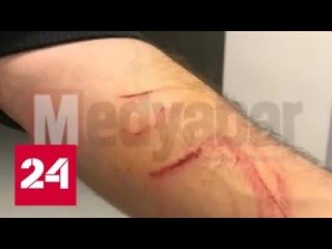 В Турции футболист устроил резню прямо на поле - Россия 24