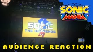 Sonic Mania Reveal Audience Reaction