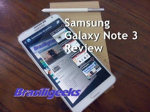 Samsung Galaxy Note 3 - SM-N9005 - Análise e Testes