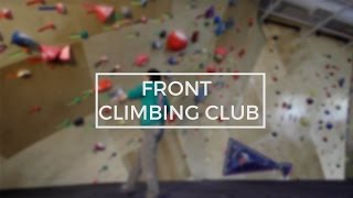 Front Climbing Club SLC's New Bouldering Cave