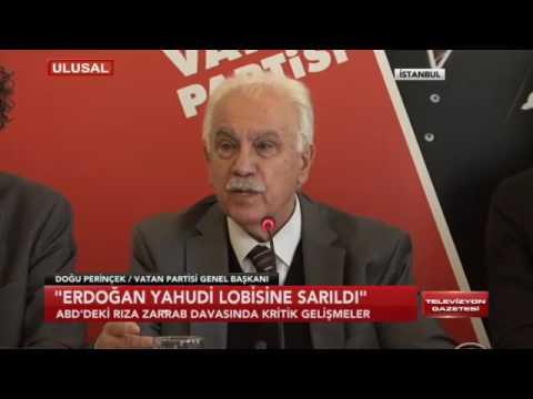 Tayyip Erdoğan, Rıza Sarraf olayında Yahudi lobisine nasıl sarıldı