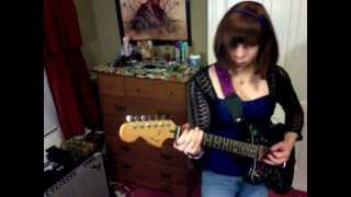 """The Waitresses - """"The Comb"""" (guitar cover)"""