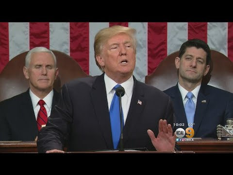 President Makes Plea For Unity In State Of The Union Address