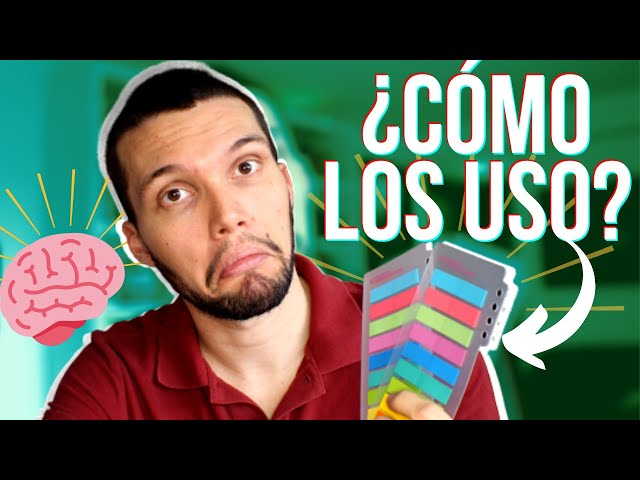 🏷️ Mi poderoso sistema para leer y recordar TODO con post-its [TUTORIAL]