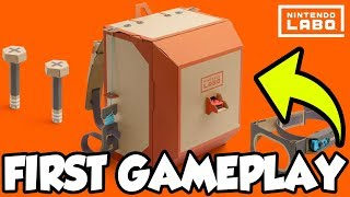 ROBOT ATTACKS! 🤖   Nintendo Labo Robot Kit Gameplay! [🔴LIVE]