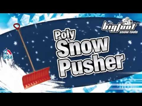 #1280 Poly Snow Roller Demonstration