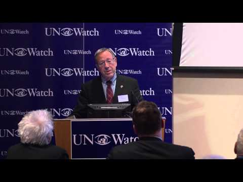 Professor Irwin Cotler on UN Watch's 20th Anniversary