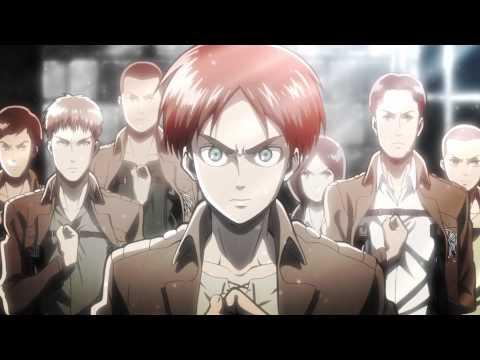 Shingeki no Kyojin Opening 1 (Sin creditos)