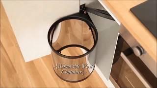 видео Мусорное ведро под мойку для кухни