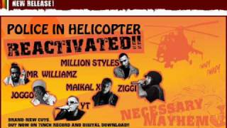 Police in helicopter  Reactivated 2010 Riddim mix by PTM